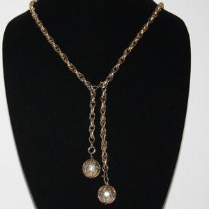 Sarah Cov Drop peal necklace Vintage